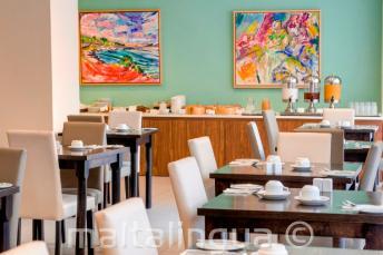 Restaurant in de Argento Hotel