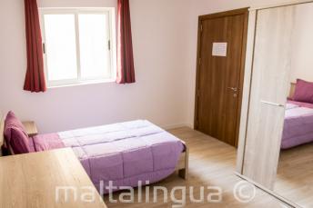 Talenschool accommodatie appartement slaapkamer