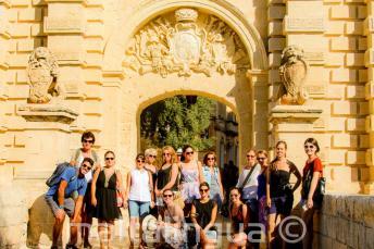 Kennis van het Engels rondleiding in Mdina