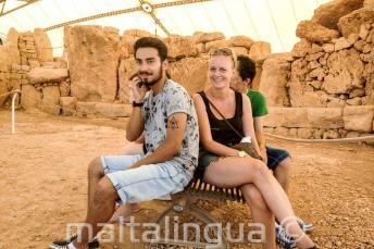 Rondleiding door de oude tempels van Malta