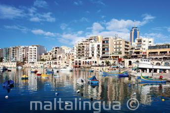 Foto van Spinola Bay, St. Julians