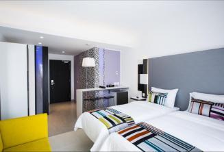 Moderne kamer in het Hotel Valentina, Malta